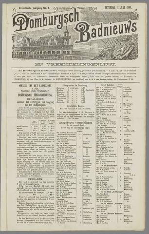 Domburgsch Badnieuws 1899