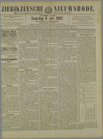 Zierikzeesche Nieuwsbode 1907-07-06