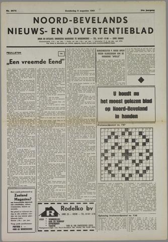 Noord-Bevelands Nieuws- en advertentieblad 1981-08-06
