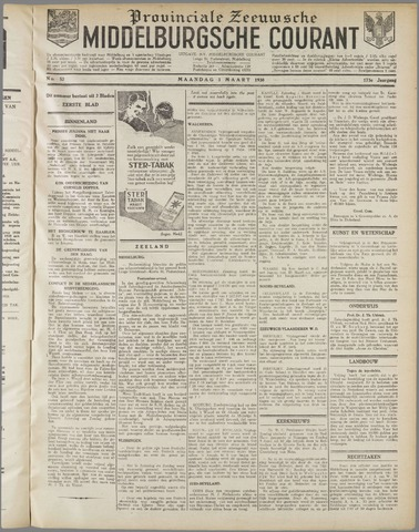 Middelburgsche Courant 1930-03-03