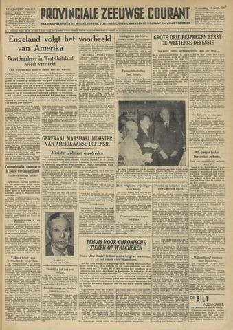 Provinciale Zeeuwse Courant 1950-09-13