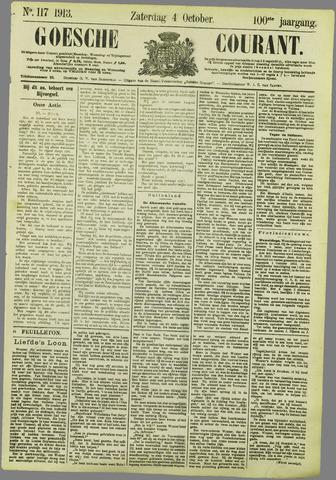 Goessche Courant 1913-10-04