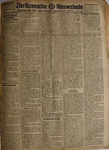 Zierikzeesche Nieuwsbode 1921-10-05