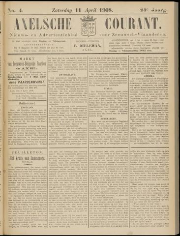 Axelsche Courant 1908-04-11
