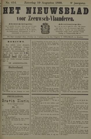 Nieuwsblad voor Zeeuwsch-Vlaanderen 1899-08-19