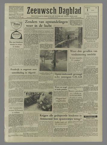 Zeeuwsch Dagblad 1958-03-01