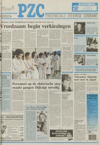 Provinciale Zeeuwse Courant 1994-04-27
