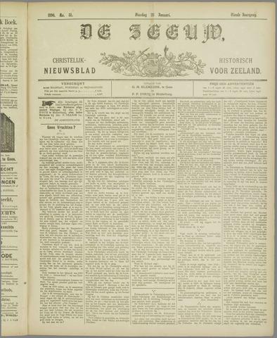 De Zeeuw. Christelijk-historisch nieuwsblad voor Zeeland 1896-01-28
