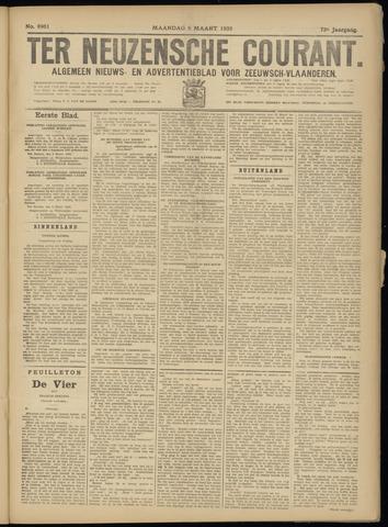 Ter Neuzensche Courant. Algemeen Nieuws- en Advertentieblad voor Zeeuwsch-Vlaanderen / Neuzensche Courant ... (idem) / (Algemeen) nieuws en advertentieblad voor Zeeuwsch-Vlaanderen 1933-03-06