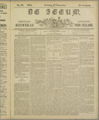 De Zeeuw. Christelijk-historisch nieuwsblad voor Zeeland 1906-11-27