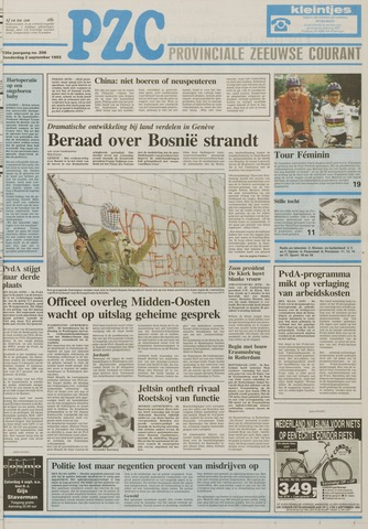 Provinciale Zeeuwse Courant 1993-09-02