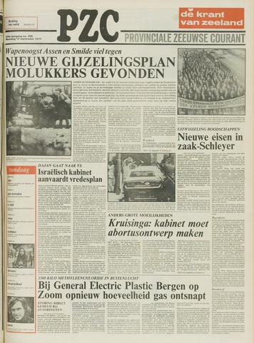 Provinciale Zeeuwse Courant 1977-09-12