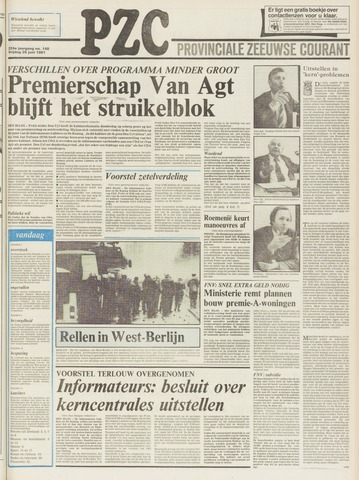 Provinciale Zeeuwse Courant 1981-06-26