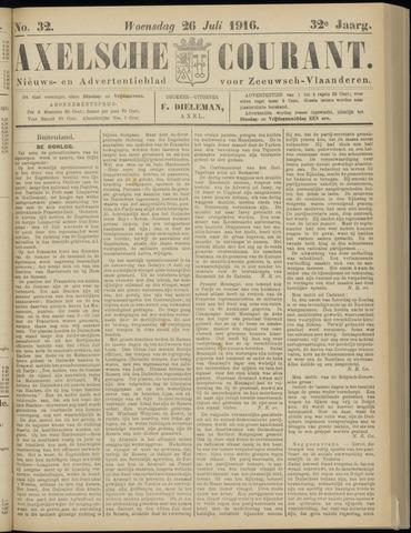 Axelsche Courant 1916-07-26
