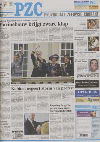 Provinciale Zeeuwse Courant 2004-09-22