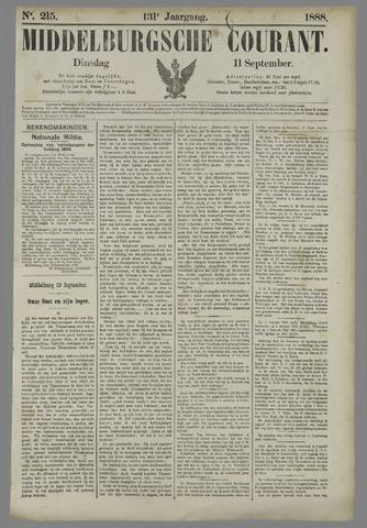 Middelburgsche Courant 1888-09-11
