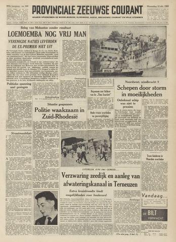 Provinciale Zeeuwse Courant 1960-10-12