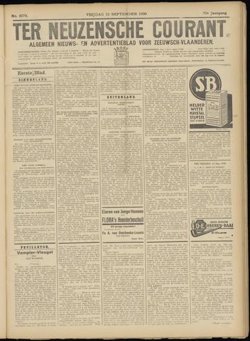 Ter Neuzensche Courant. Algemeen Nieuws- en Advertentieblad voor Zeeuwsch-Vlaanderen / Neuzensche Courant ... (idem) / (Algemeen) nieuws en advertentieblad voor Zeeuwsch-Vlaanderen 1930-09-12
