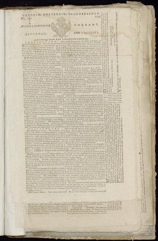 Middelburgsche Courant 1799-10-19