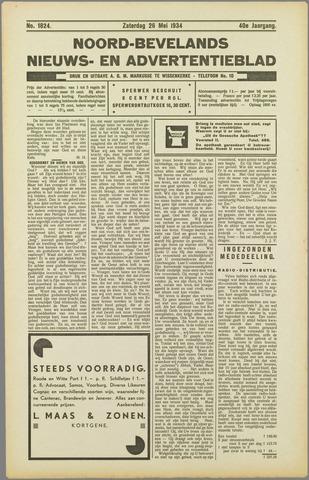 Noord-Bevelands Nieuws- en advertentieblad 1934-05-26