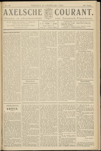 Axelsche Courant 1931-02-27