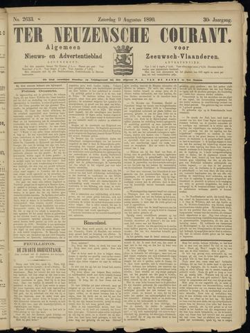 Ter Neuzensche Courant. Algemeen Nieuws- en Advertentieblad voor Zeeuwsch-Vlaanderen / Neuzensche Courant ... (idem) / (Algemeen) nieuws en advertentieblad voor Zeeuwsch-Vlaanderen 1890-08-09