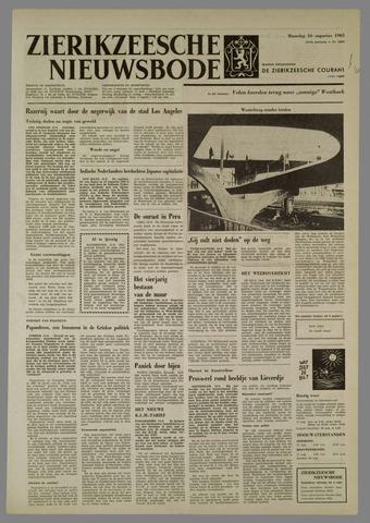 Zierikzeesche Nieuwsbode 1965-08-16