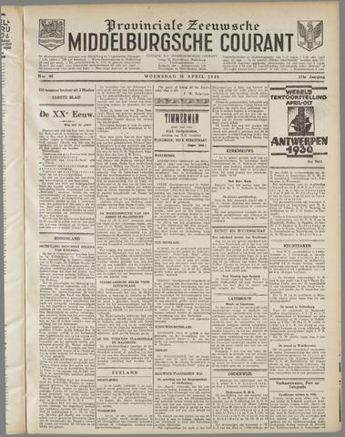Middelburgsche Courant 1930-04-23