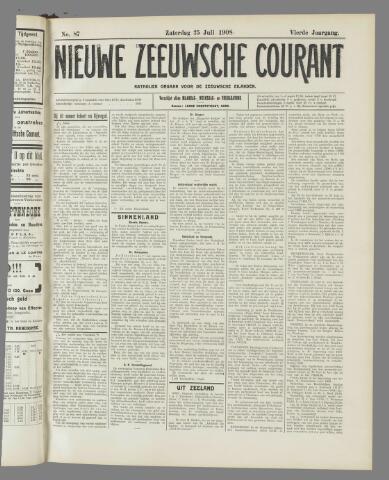 Nieuwe Zeeuwsche Courant 1908-07-25