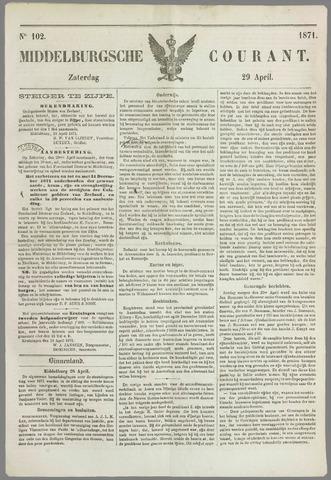 Middelburgsche Courant 1871-04-29