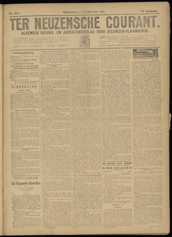 Ter Neuzensche Courant. Algemeen Nieuws- en Advertentieblad voor Zeeuwsch-Vlaanderen / Neuzensche Courant ... (idem) / (Algemeen) nieuws en advertentieblad voor Zeeuwsch-Vlaanderen 1933-02-01
