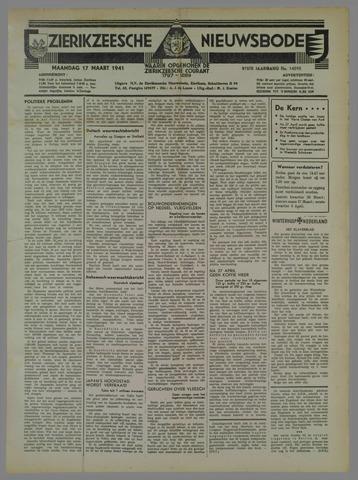 Zierikzeesche Nieuwsbode 1941-03-17