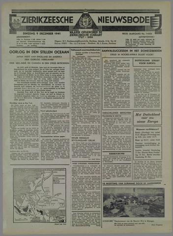Zierikzeesche Nieuwsbode 1941-11-09