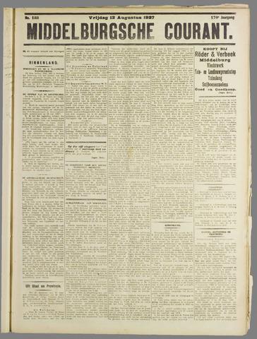 Middelburgsche Courant 1927-08-12