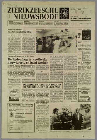 Zierikzeesche Nieuwsbode 1985-09-23
