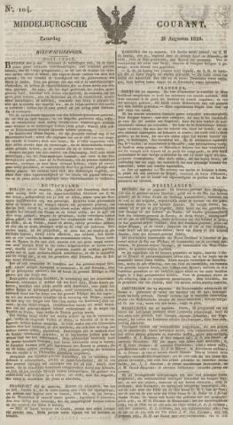 Middelburgsche Courant 1829-08-29