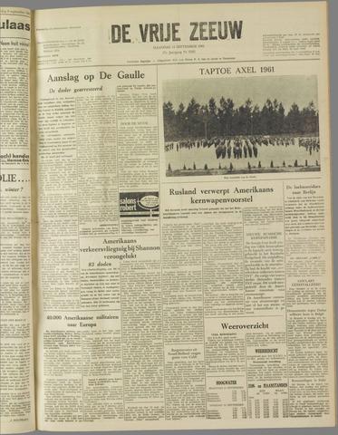 de Vrije Zeeuw 1961-09-11