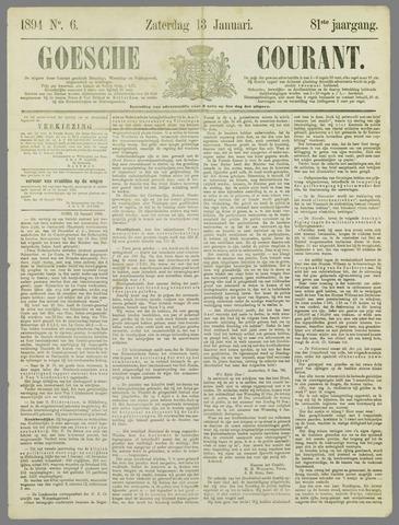 Goessche Courant 1894-01-13