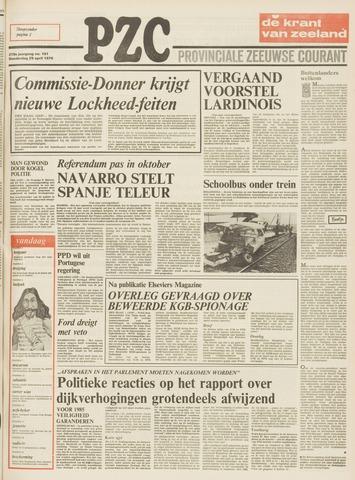 Provinciale Zeeuwse Courant 1976-04-29