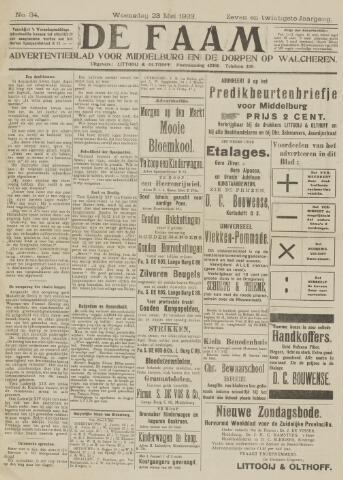 de Faam en de Faam/de Vlissinger 1923-05-23
