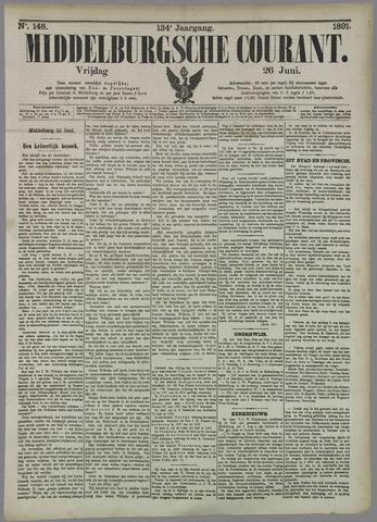 Middelburgsche Courant 1891-06-26