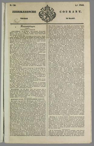 Zierikzeesche Courant 1844-03-29