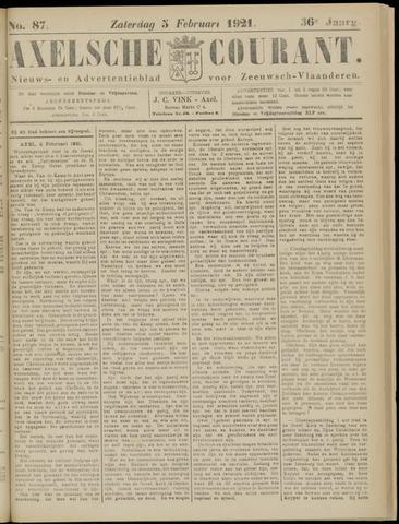 Axelsche Courant 1921-02-05