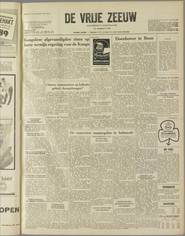 de Vrije Zeeuw 1959-08-27