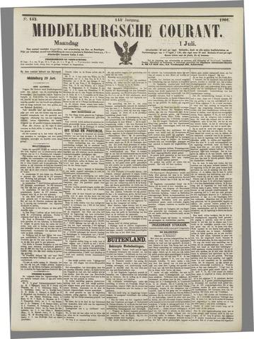 Middelburgsche Courant 1901-07-01