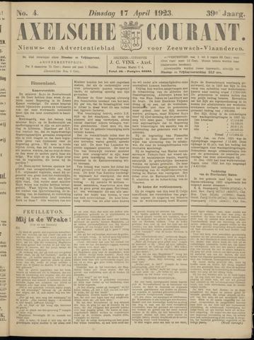 Axelsche Courant 1923-04-17