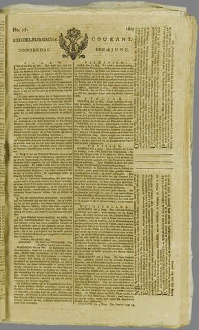 Middelburgsche Courant 1807-06-18
