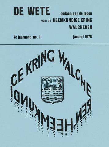 de Wete 1978-01-01