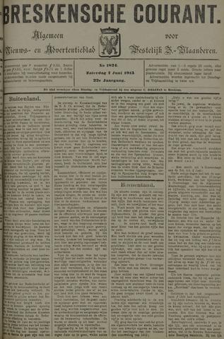Breskensche Courant 1913-06-07