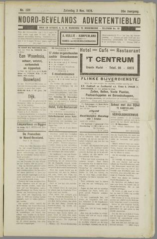 Noord-Bevelands Nieuws- en advertentieblad 1928-11-03